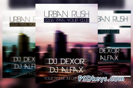 Urban Rush Flyer 39190