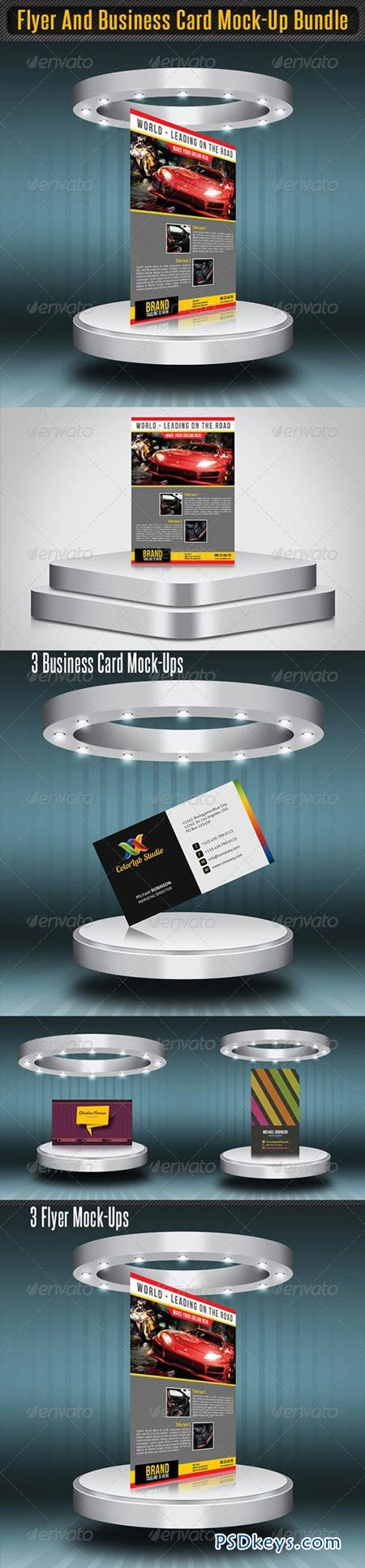 Flyer and business card mock up bundle 4383464 free download flyer and business card mock up bundle 4383464 reheart Gallery