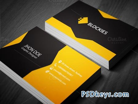 Creative Business Card Template Free Download Photoshop - Creative business card templates