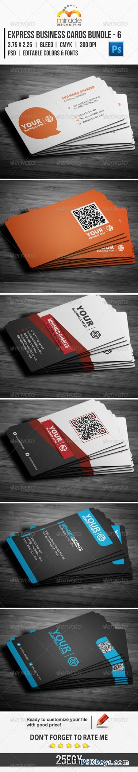 Express business cards bundle 6 5767557 free download photoshop express business cards bundle 6 5767557 reheart Images
