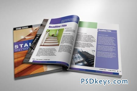 interior indesign magazine template 37866 » free download, Powerpoint templates
