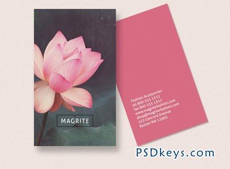 Business Card - Lotus Blossom 37658