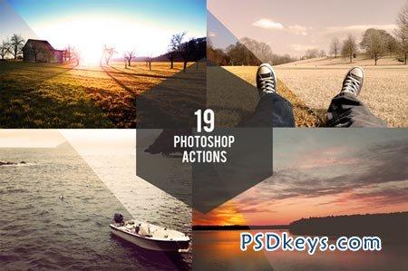 19 Photoshop Actions 32396