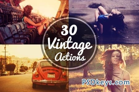 30 Vintage Actions 25159