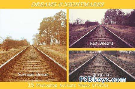 Dreams & Nightmares- 15 PS Actions 28195