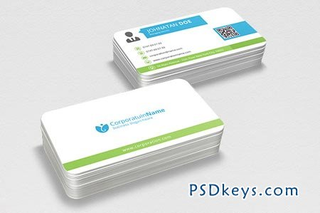 Corporate Business Card 43389