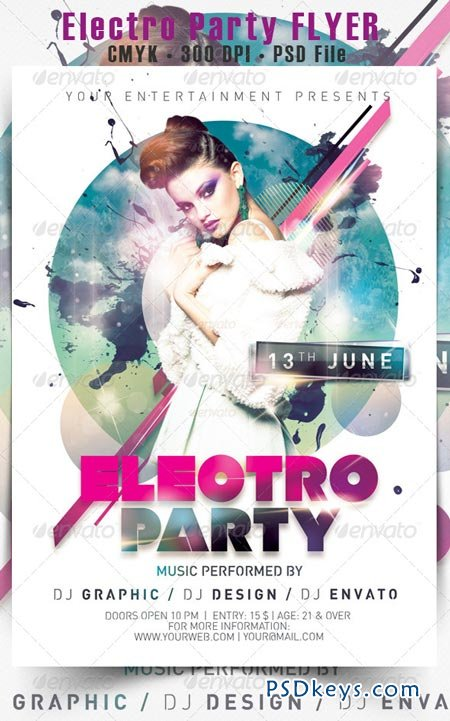 Electro Party Flyer 5109961
