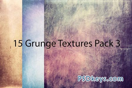 15 Grunge Textures Pack 3 3942