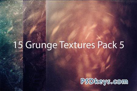 Creativemarket 15 Grunge Textures Pack 5 3944