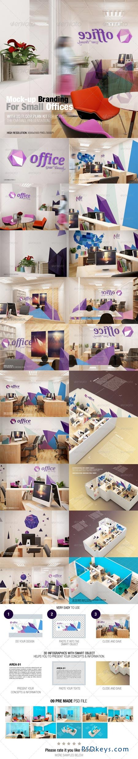 Mockup Branding For Small Offices 7688046