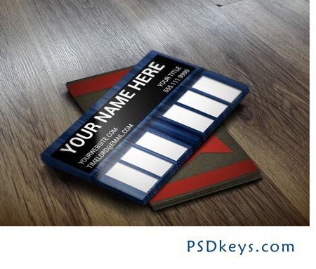 Doctor Who Tardis Business Card 22304