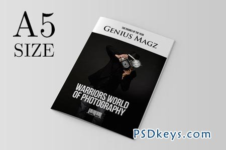 a5 indesign magazine template 21283 » free download photoshop, Powerpoint templates
