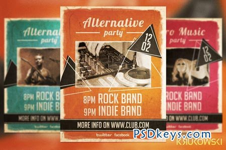 Alternative Party Flyer 20928