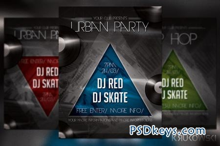 Urban Party Flyer 20855