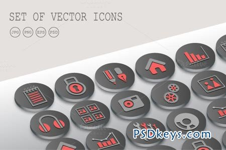 Icons interface 30747
