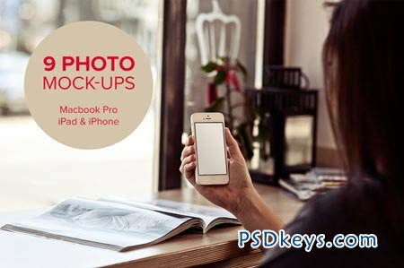 9 photo mock-ups - devices - vol.2 29922