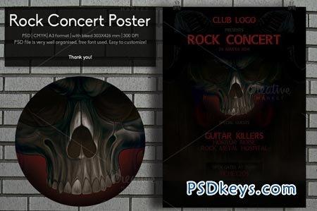 Rock Concert Poster 44932