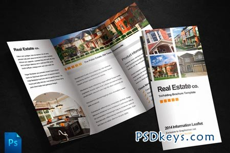 Real Estate Brochure Template 305 Free Download Photoshop Vector