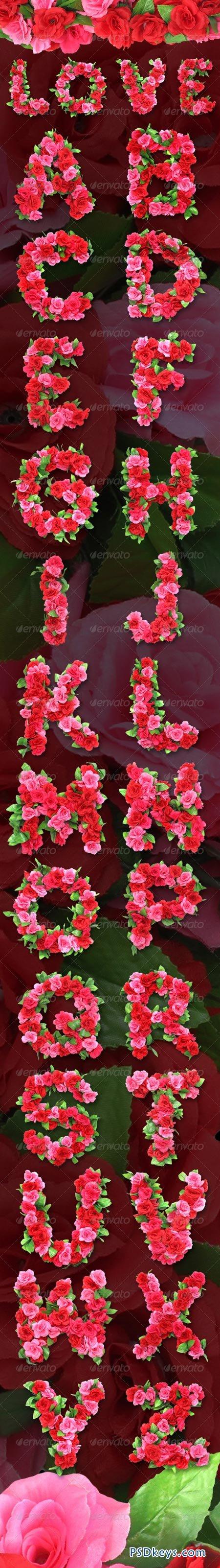 S Alphabet In Rose Roses Alphabet ...