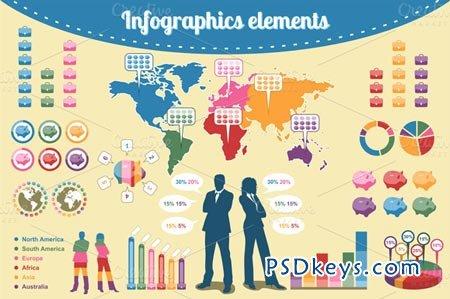 Infographics elements 4073