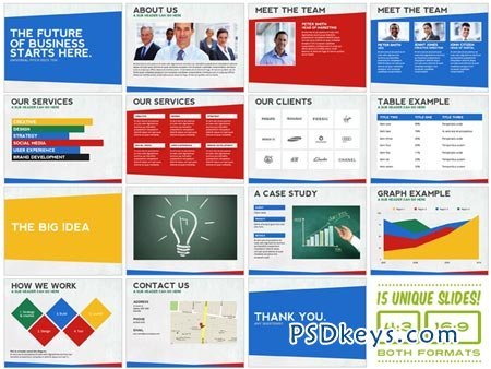 Universal Pitch Deck Ten PowerPoint 8558 » Free Download Photoshop ...