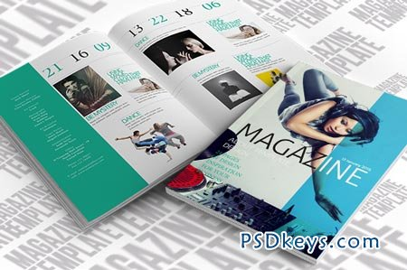Indesign Magazine Template 21141Indesign Magazine Template 21141