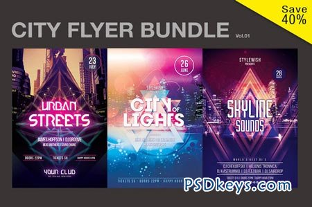City Flyer Bundle Vol.01 51878