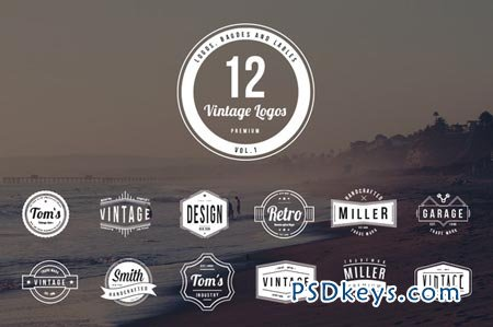 Freebie Free Hipster Badges Insignia Vector On Behance  Badges