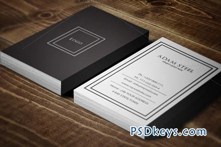 Simple Business Card Template 51542