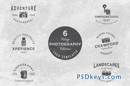 Vintage Potography Logo Collection 51249