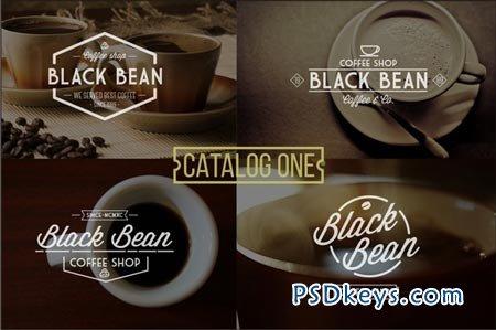 6 Vintage Coffee Logo 50888