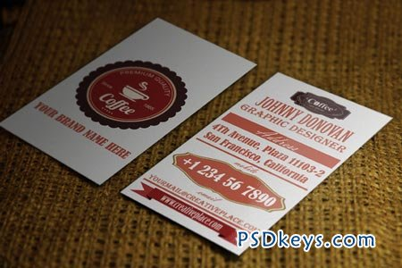 Retro Business Card 51093