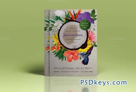 Premium Wedding Invite II 51115
