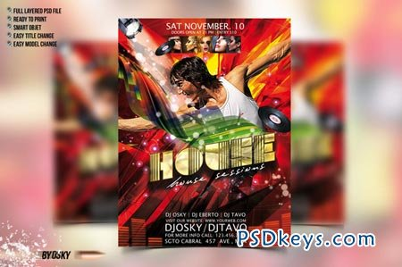 House Party Flyer 50644