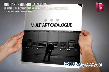 MultiArt - Multipurpose Catalogue 50186