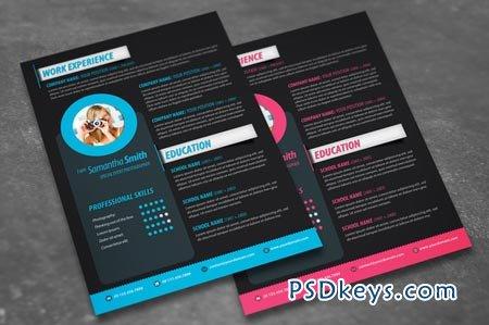 Modern Resume Design 50536