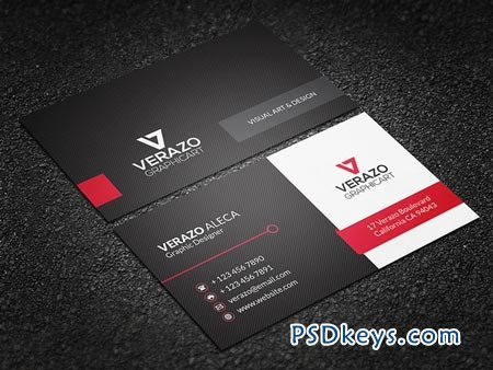 Clean & Modern Business Card 50157