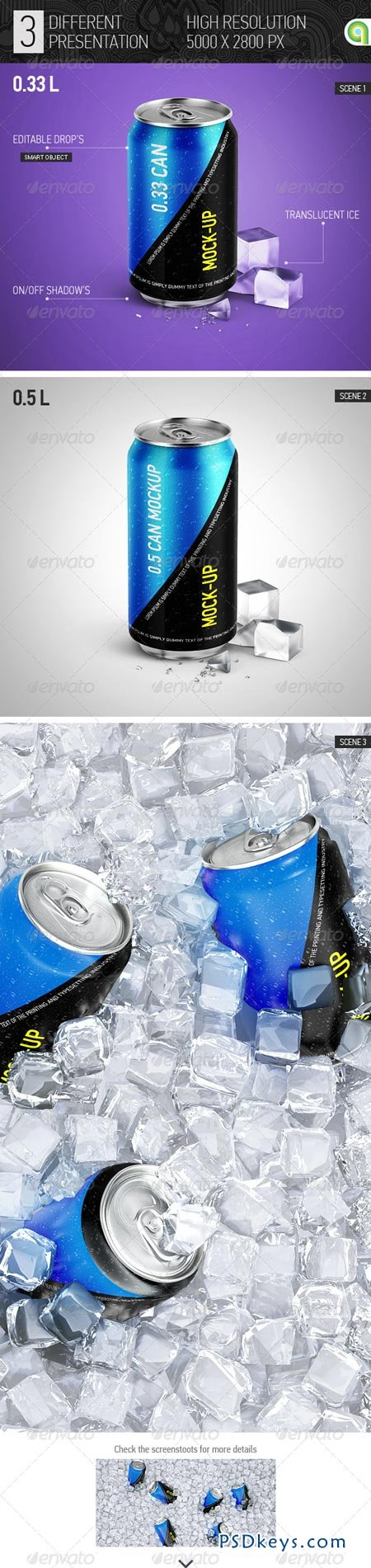 Soda Can Mock-up 7814438