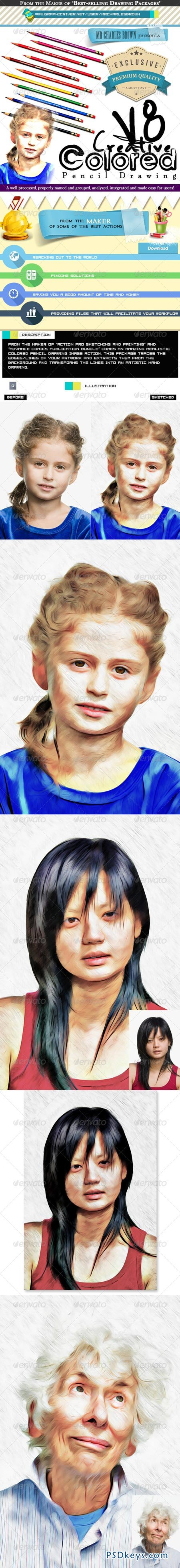 Creative Colored Pencil Drawing 8 7773714