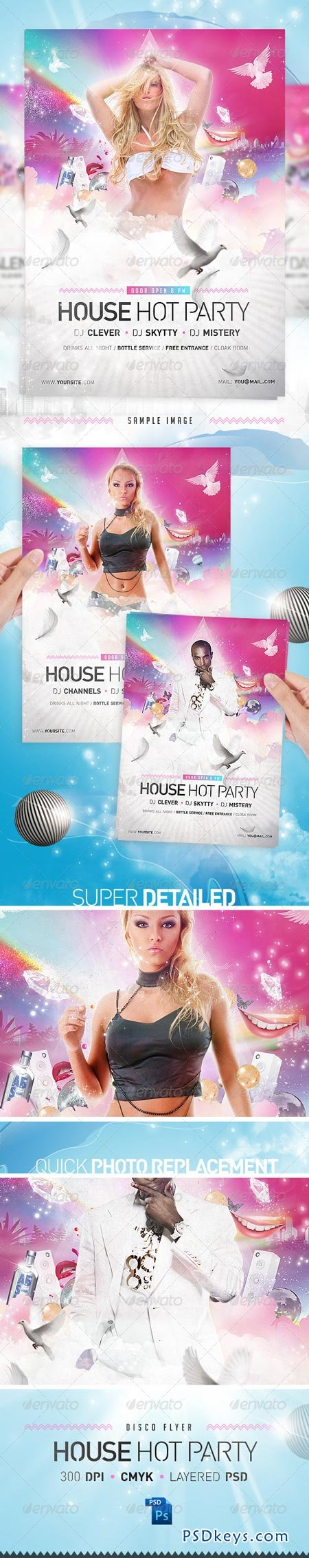 house party disco flyer template photoshop house party disco flyer template 1448512