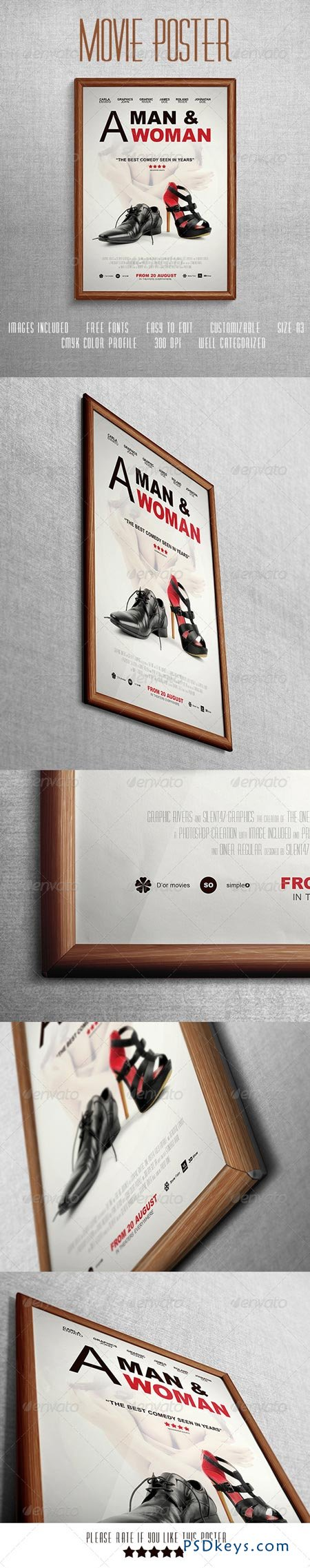 comedy movie poster template 7353041 free download photoshop