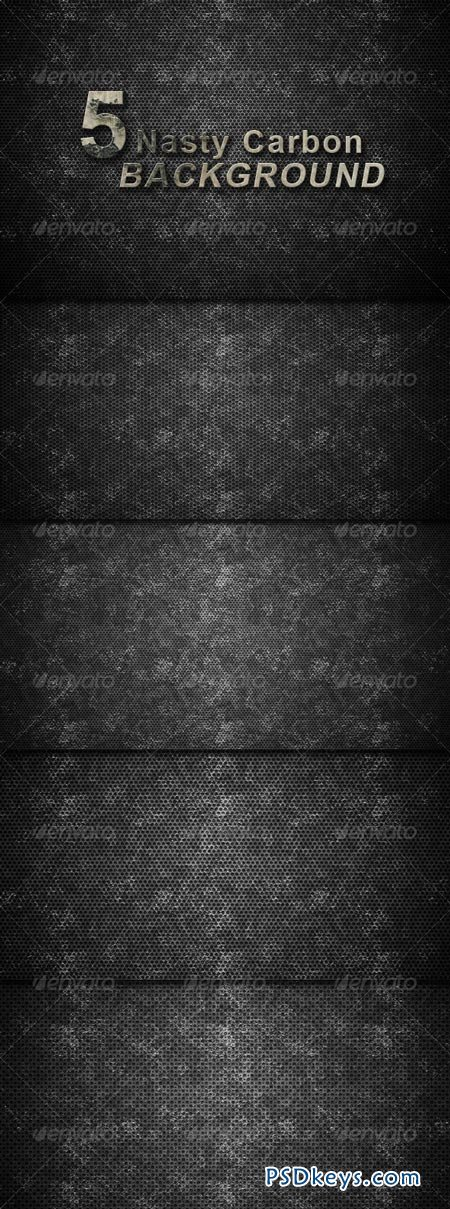 5 Hi-res Nasty Carbon Textured Background 161654