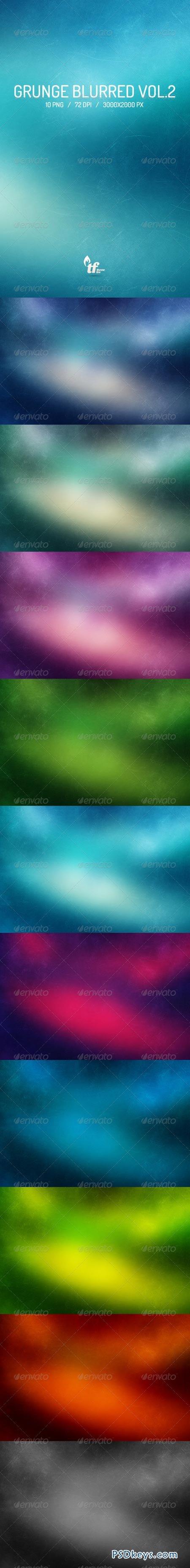10 Grunge Blurred Backgrounds Vol.2 6869668