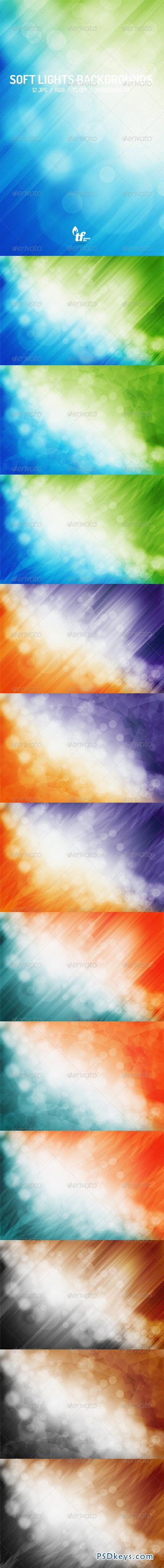 Soft Lights Abstract Backgrounds 7715186
