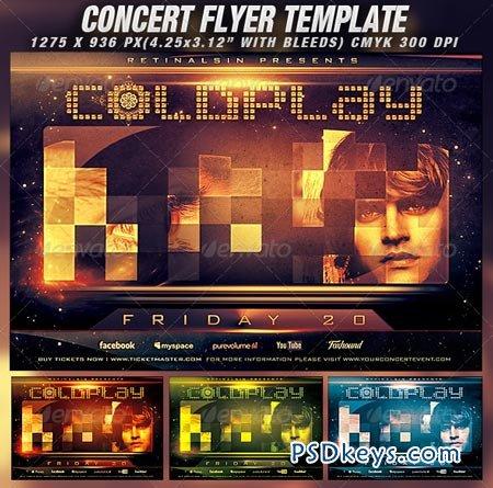 Concert Flyer Template v.2 1359358