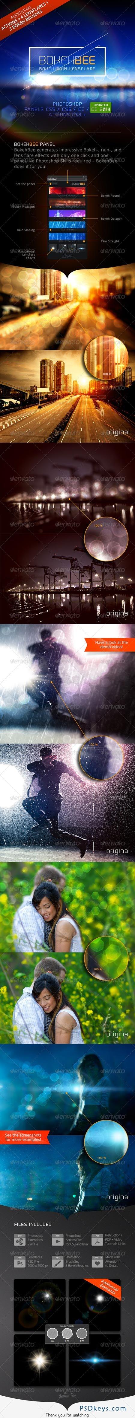 BokehBee - Bokeh Rain Lens-Flare Generator 6858473