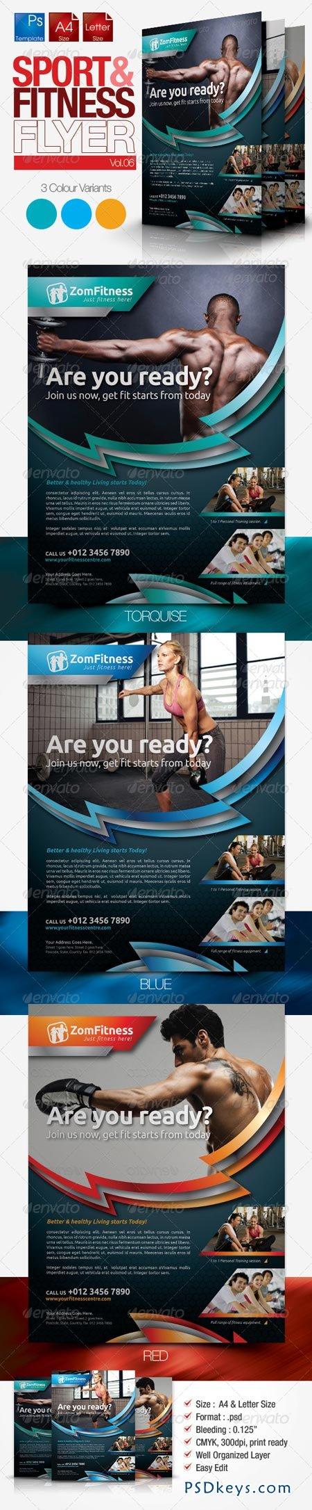 Fitness Flyer Vol.6 3464266