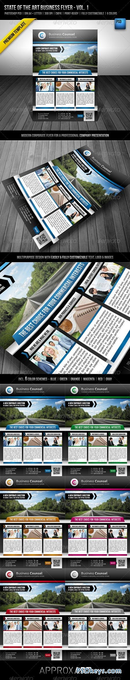 State of the Art Business Flyer - Vol. 1 2521298