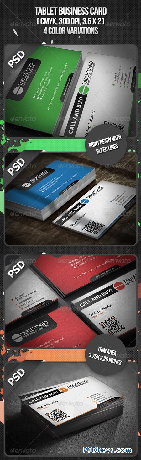 Tablet Business Card 3343286