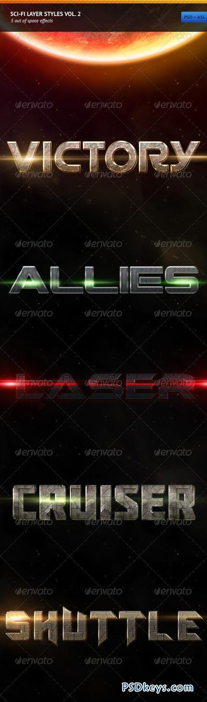 Sci-fi Layer Styles Vol. 2 246087
